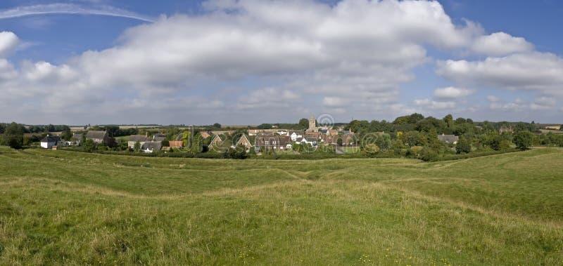 Engels dorp stock afbeelding