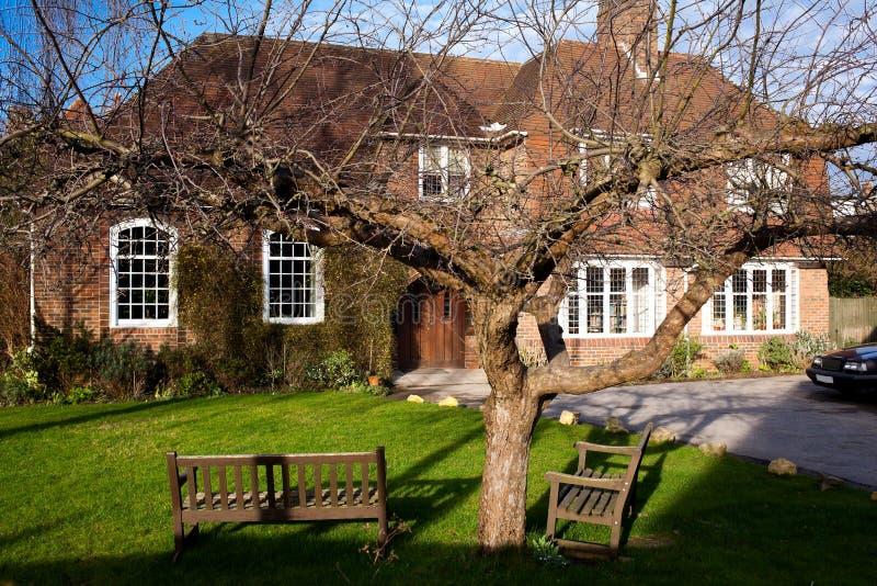Engels huis royalty-vrije stock afbeelding