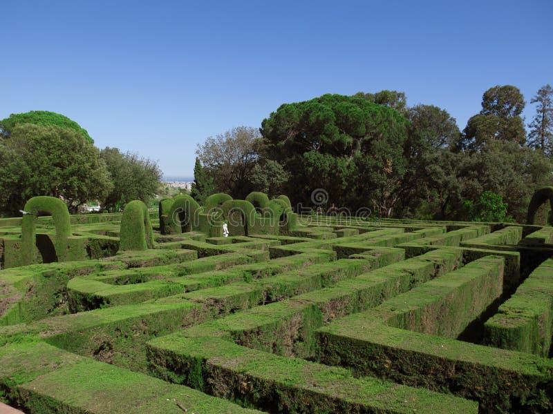 Engels labyrint stock fotografie