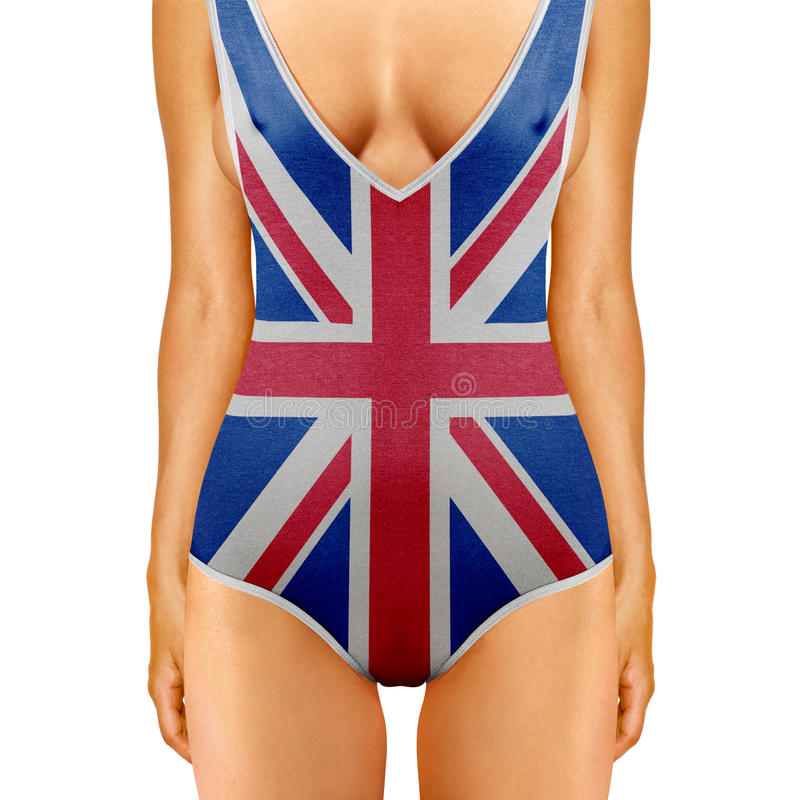 Engels lichaam royalty-vrije stock foto