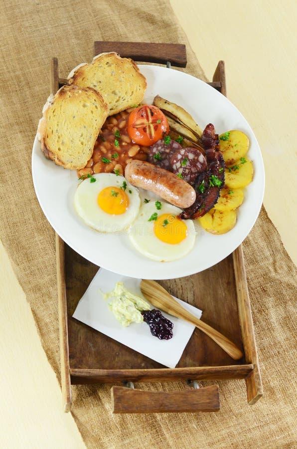 Engels ontbijt royalty-vrije stock foto's
