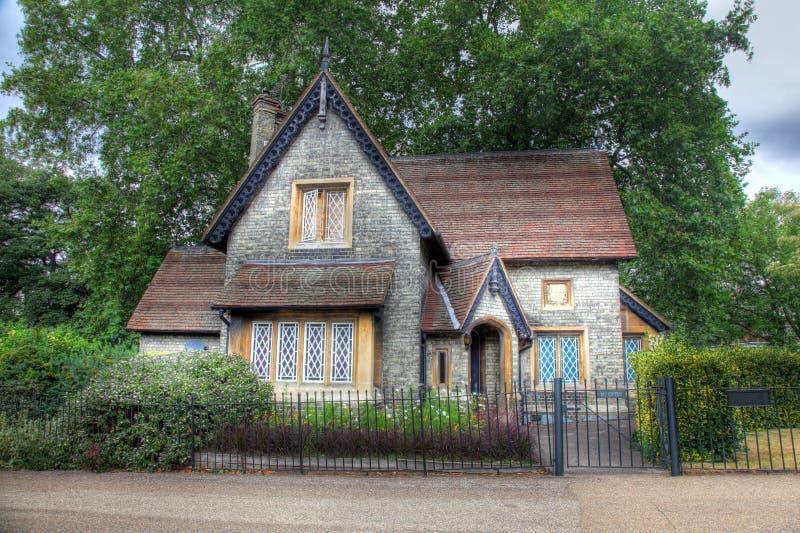 Engels Plattelandshuisje royalty-vrije stock foto