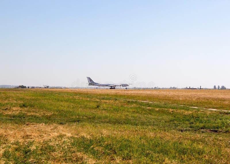 Engels Ryssland - Augusti 19, 2017: Dag av luftflottan royaltyfria foton