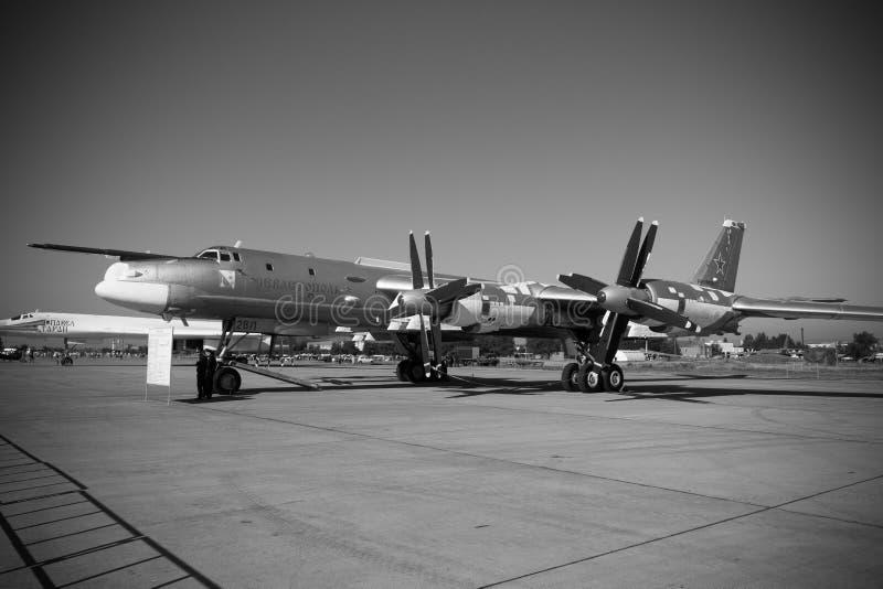 Engels Ryssland - Augusti 19, 2017: Dag av luftflottan arkivbilder