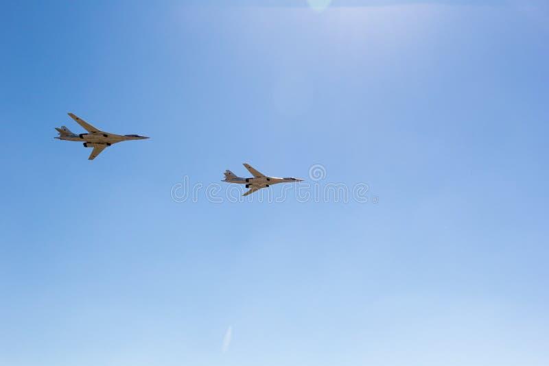 Engels Ryssland - Augusti 19, 2017: Dag av luftflottan royaltyfri fotografi