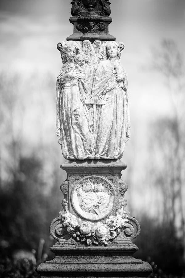 Engels-Statue stockfoto