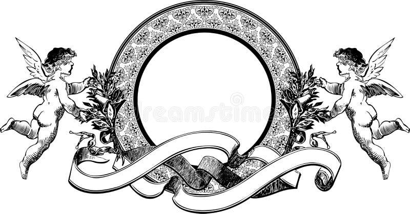 Engels-Wappenkunde vektor abbildung
