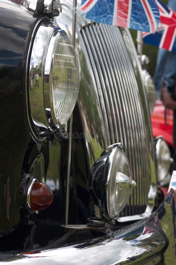 Engelse auto royalty-vrije stock foto's