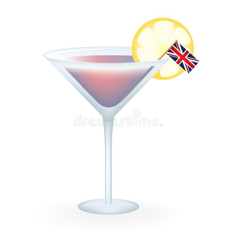 Engelse Cocktail stock afbeeldingen