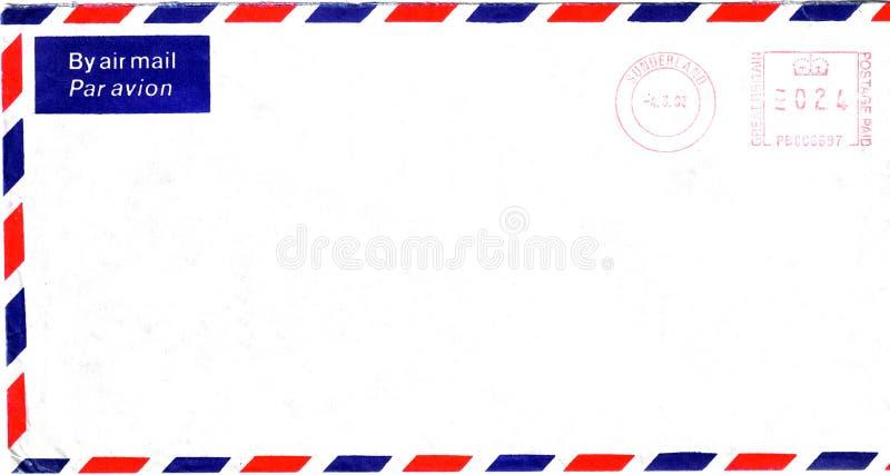 Engelse envelop vector illustratie