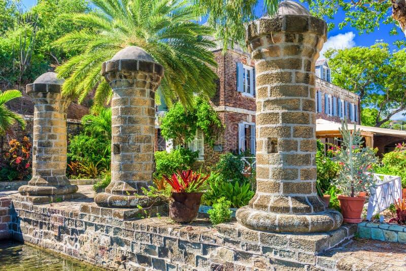 Engelse Haven, Antigua royalty-vrije stock fotografie