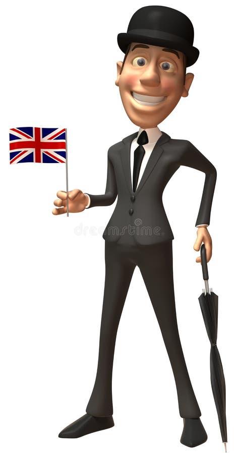 Engelse heer stock illustratie