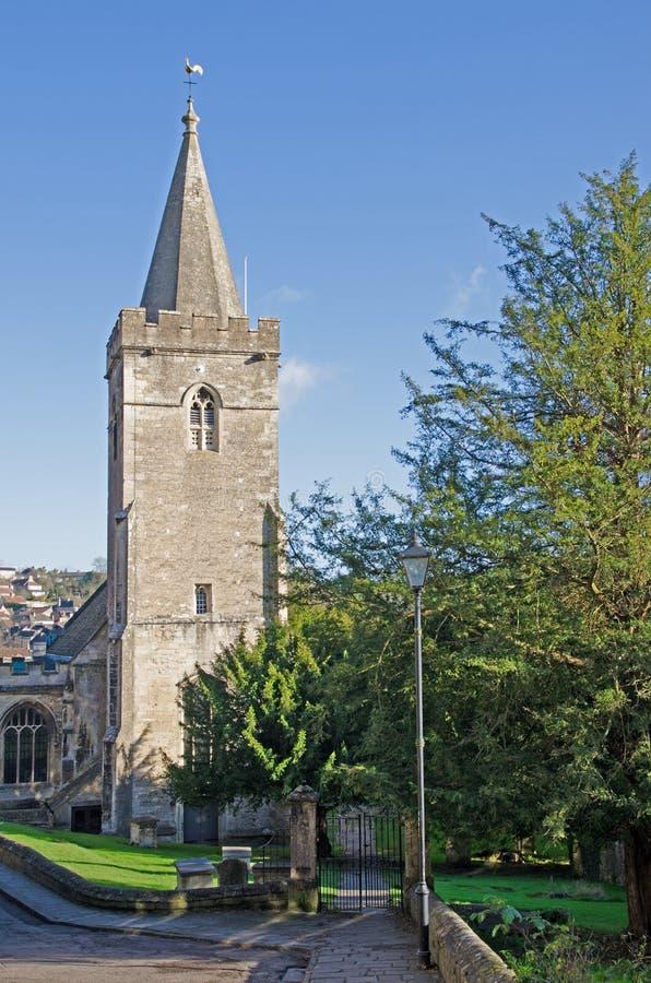 Engelse kerk stock afbeeldingen