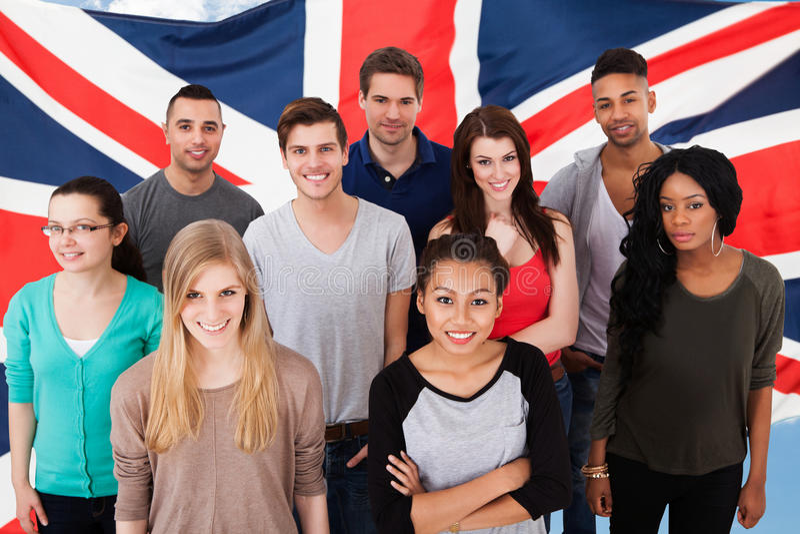 Engelse klassen stock foto's