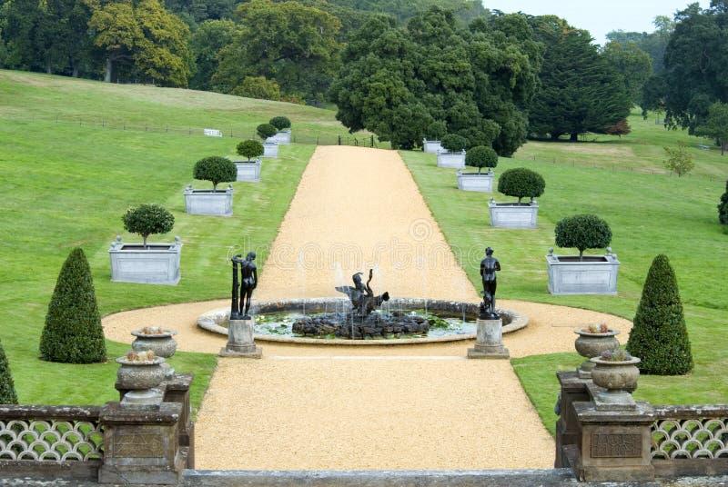 Engelse landtuin royalty-vrije stock foto