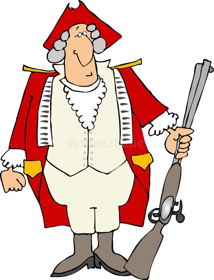 Engelse Militair royalty-vrije illustratie