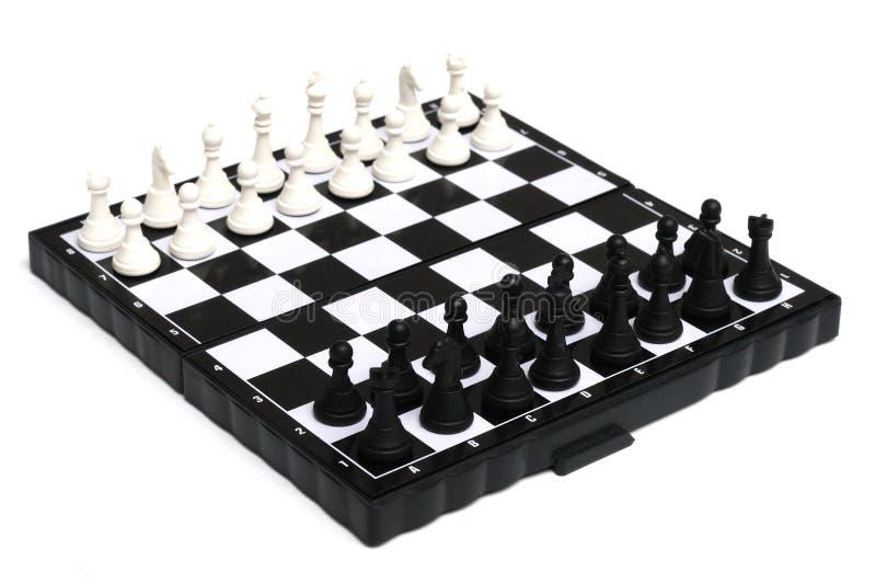 Engelse schaakreeks royalty-vrije stock afbeelding