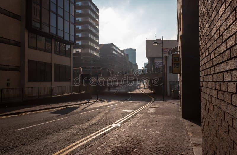 Engelse Straat stock afbeelding