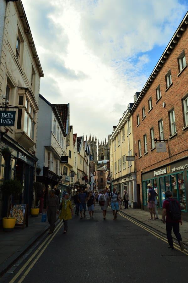 Engelse Straat stock afbeeldingen