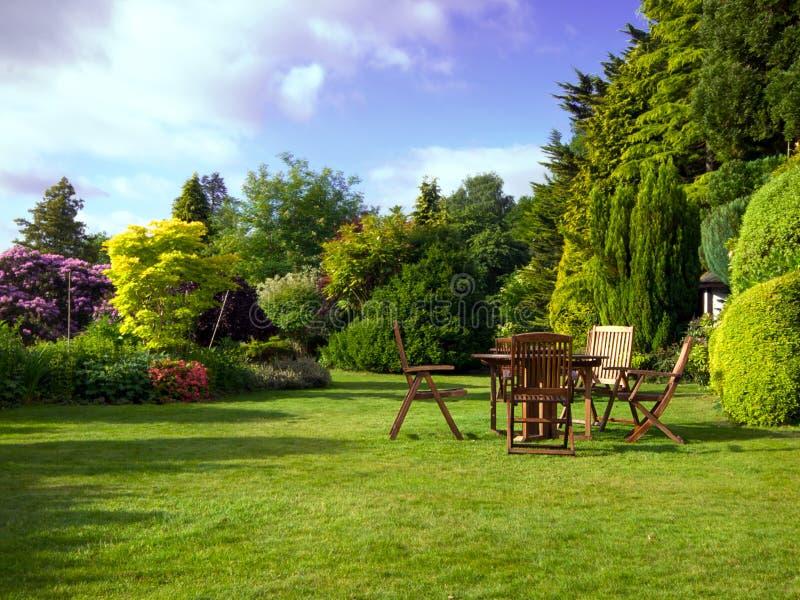 Engelse Tuin royalty-vrije stock foto's