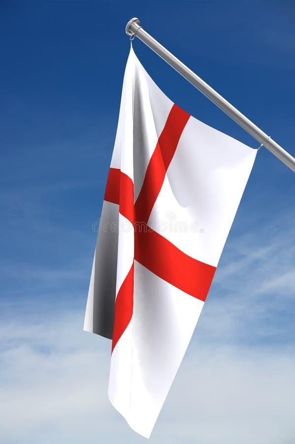 Engelse Vlag   vector illustratie