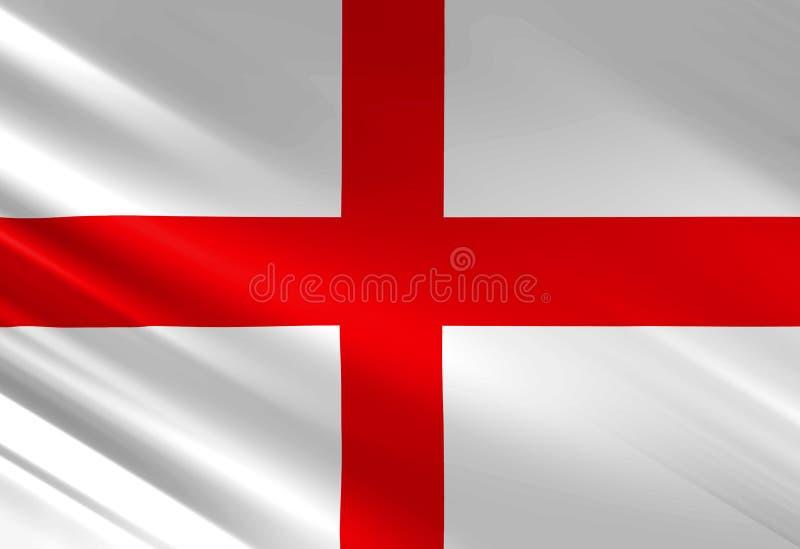 Engelse vlag royalty-vrije illustratie