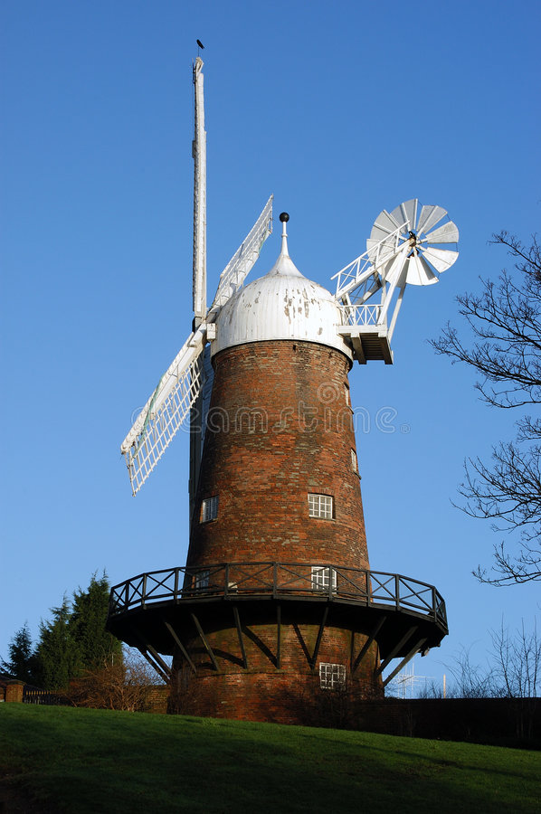 Engelse Windmolen Royalty-vrije Stock Fotografie