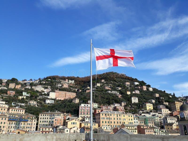 engelsk flagga arkivfoton