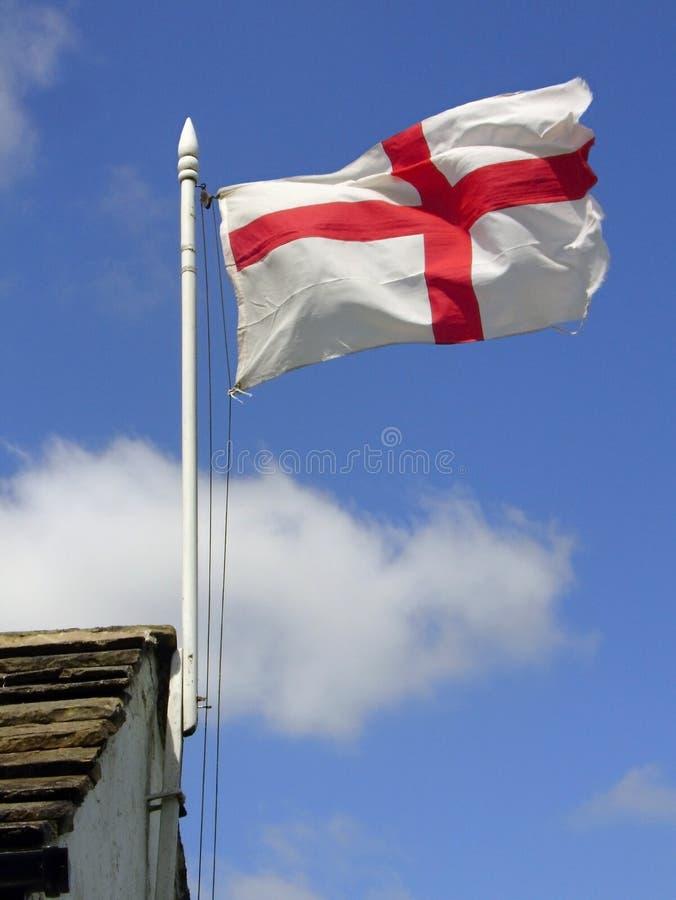 Download Engelsk flagga fotografering för bildbyråer. Bild av kors - 504135