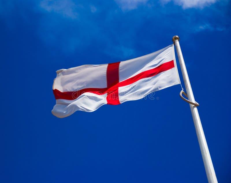 engelsk flagga arkivfoto