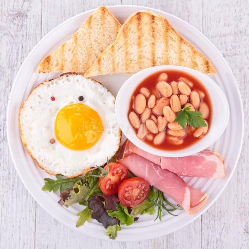 Download Engelsk frukost fotografering för bildbyråer. Bild av stekt - 37347355