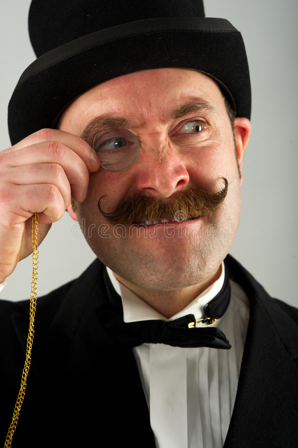 Engelsk gentleman 2 fotografering för bildbyråer