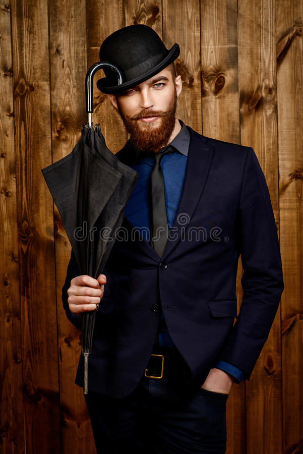 engelsk gentleman royaltyfria bilder
