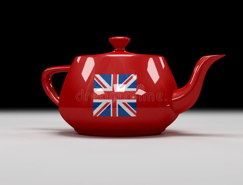 engelsk tea vektor illustrationer