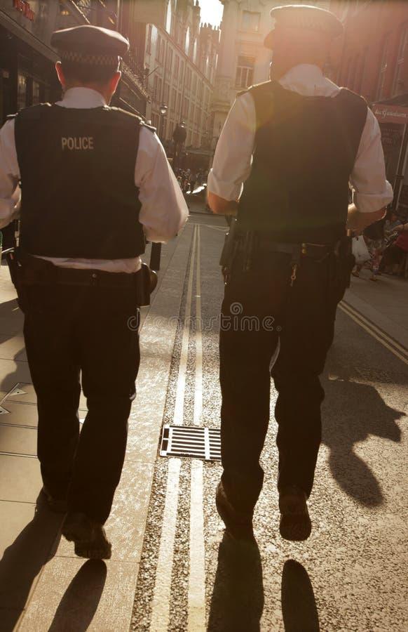 Engelska poliser royaltyfria foton
