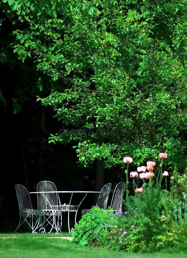 engelskaträdgård arkivfoto