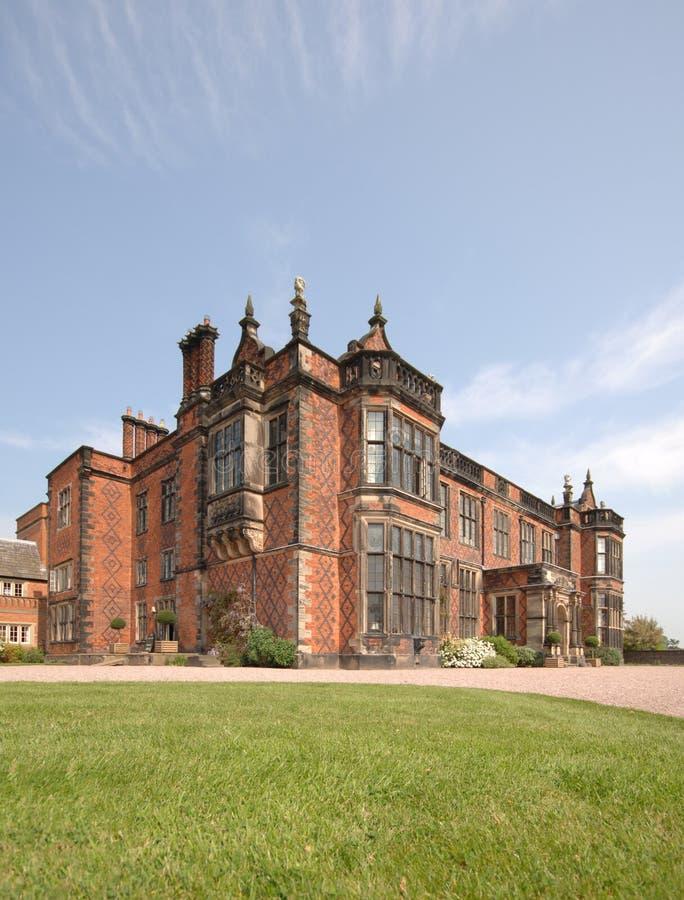 engelskt home stately royaltyfri fotografi