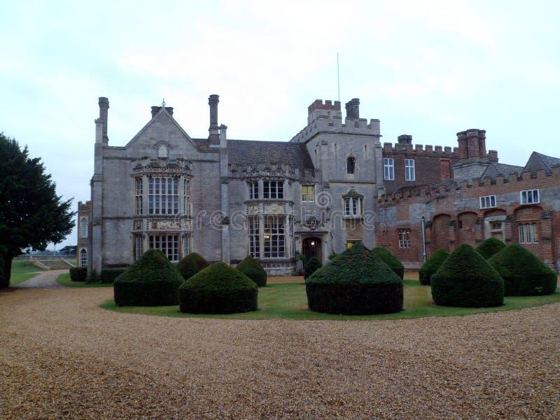 Engelskt landshus - Cambridgeshire royaltyfria bilder