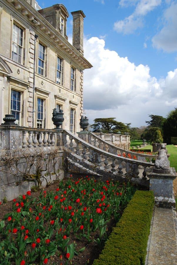 Engelskt landshus, Dorset arkivfoton