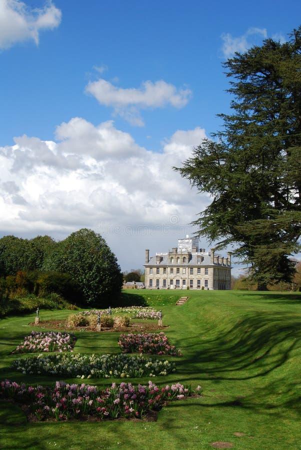 Engelskt landshus, Dorset fotografering för bildbyråer