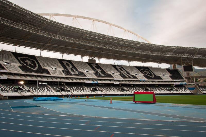 Engenhao stadion futbolowy w Rio obraz stock