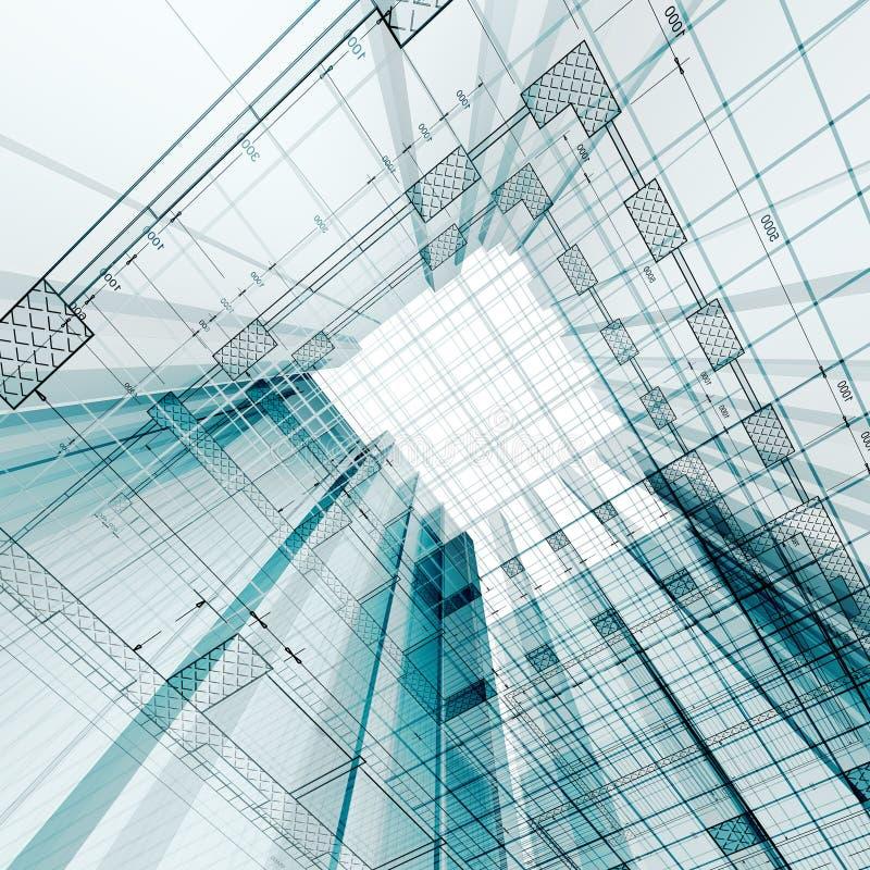 Engenharia de arquitetura ilustração do vetor