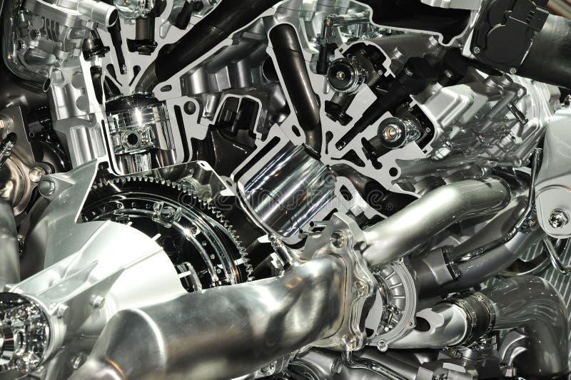 Engine à l'intérieur photos stock