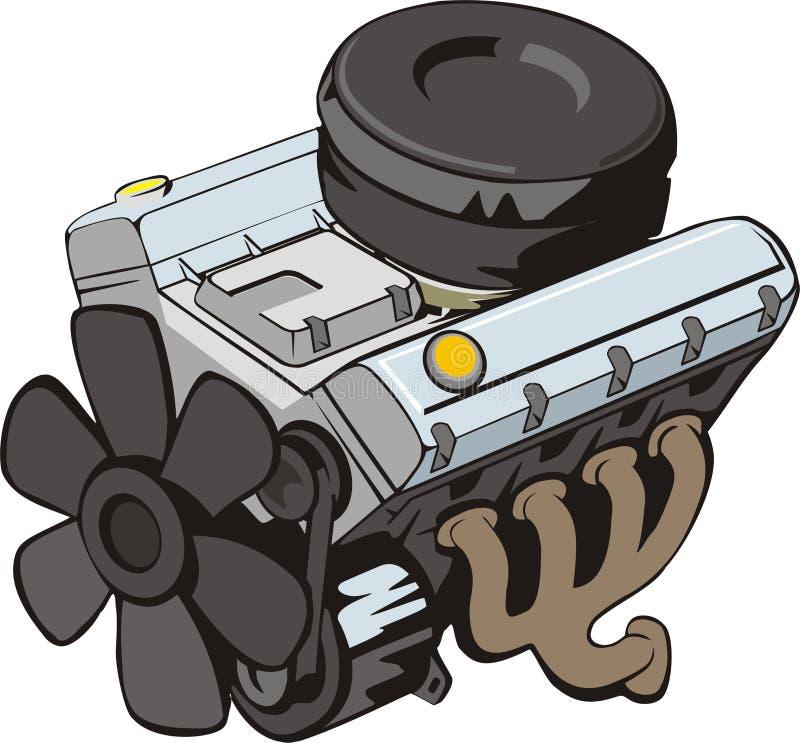 Engine illustration de vecteur
