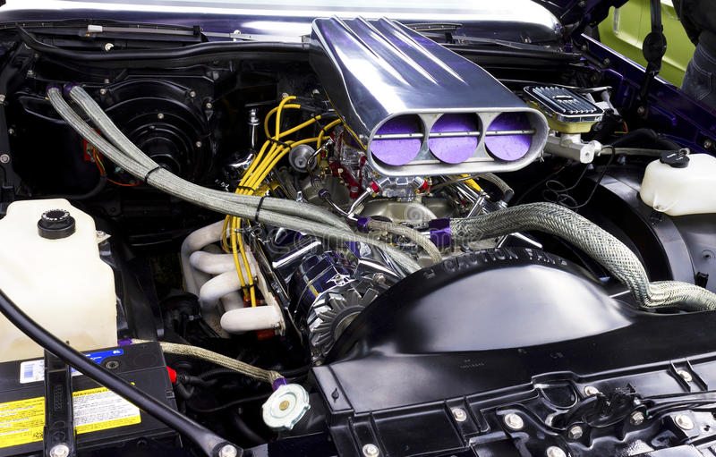Download Engine stock photo. Image of belt, battery, cable, alternator - 27237454