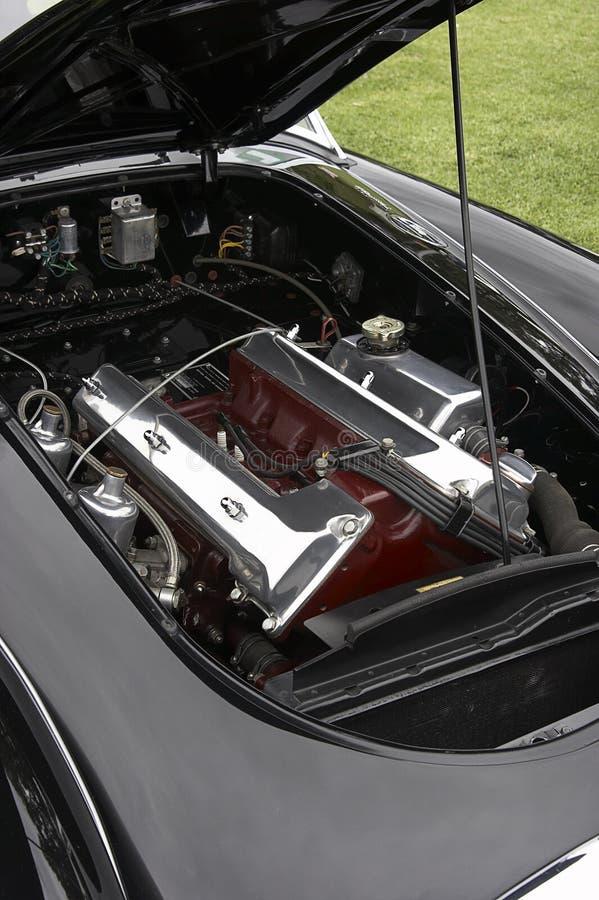 Engine Bay. Cars engine bay stock photo