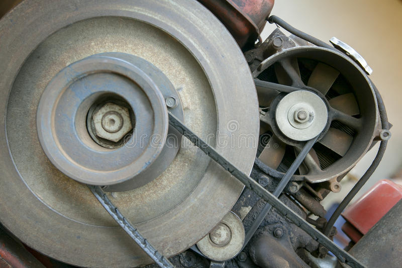Engine belt stock photos
