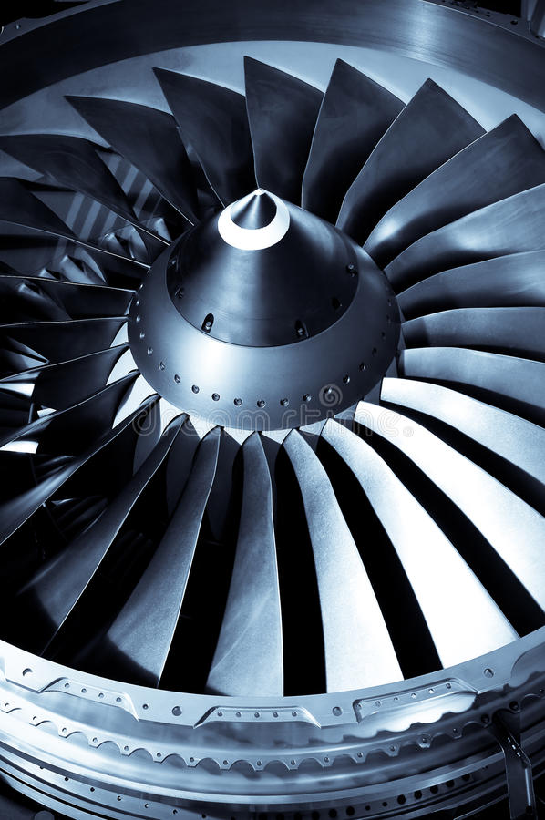 Download Engine blades stock image. Image of components, aeronautic - 11648087