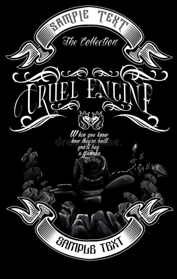 Engine2 cruel illustration libre de droits