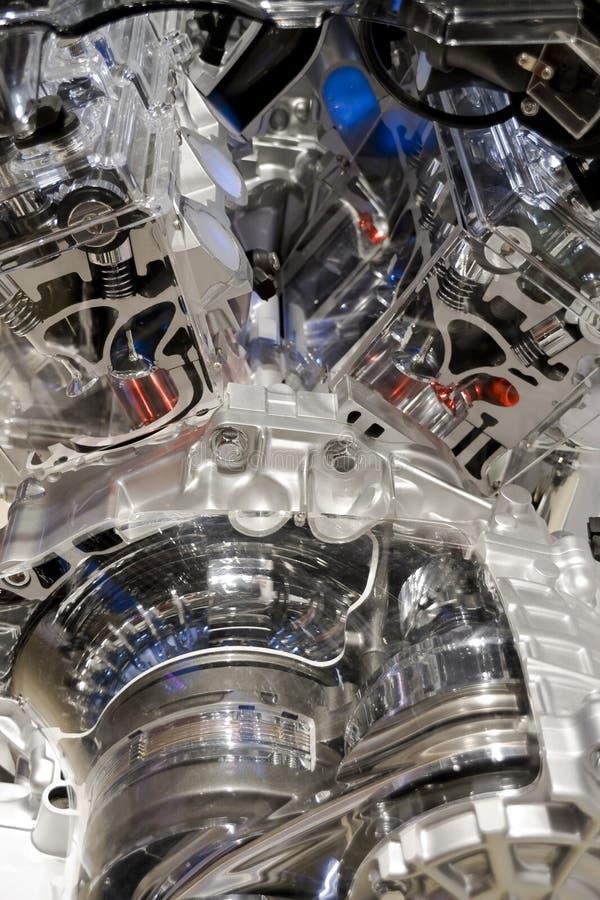 Engine d'automobile images stock
